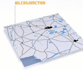 3d view of Wilcox Junction