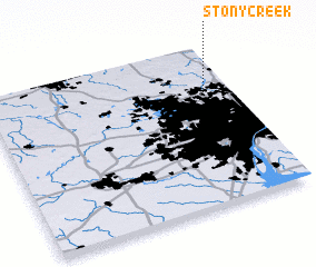 3d view of Stony Creek