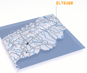 3d view of El Tejar