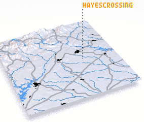 3d view of Hayes Crossing
