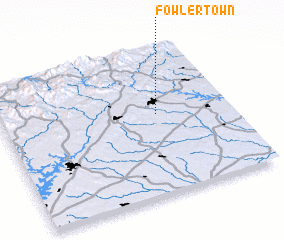 3d view of Fowlertown