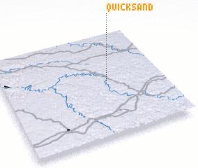 Quicksand United States Usa Map Nona Net
