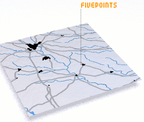 3d view of Five Points