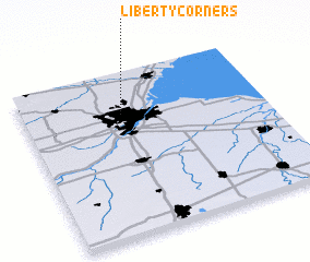 3d view of Liberty Corners