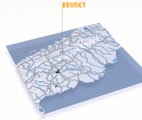 3d view of Brunet