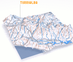 3d view of Turrialba