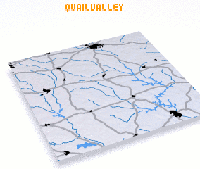 3d view of Quail Valley