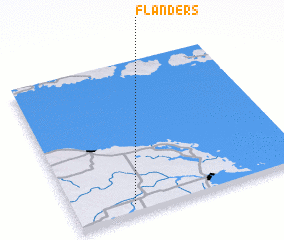 3d view of Flanders