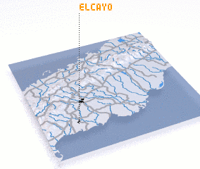 3d view of El Cayo