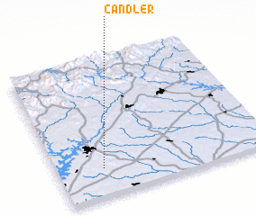 3d view of Candler