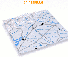 3d view of Gainesville