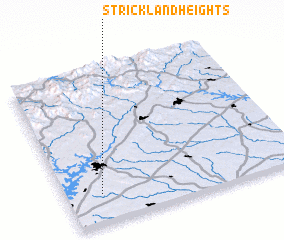 3d view of Strickland Heights