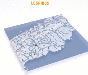 3d view of Los Pinos