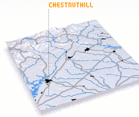 3d view of Chestnut Hill