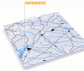3d view of Oak Harbor
