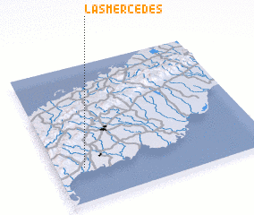 3d view of Las Mercedes