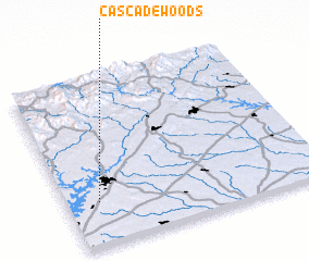 3d view of Cascade Woods