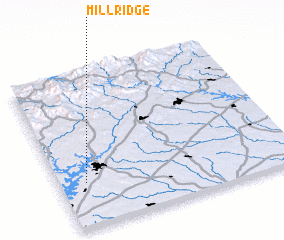 3d view of Mill Ridge