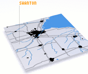 3d view of Swanton