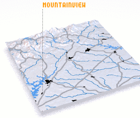 3d view of Mountain View