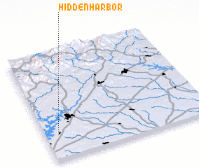 3d view of Hidden Harbor