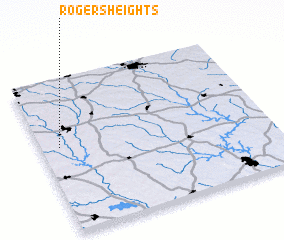 3d view of Rogers Heights