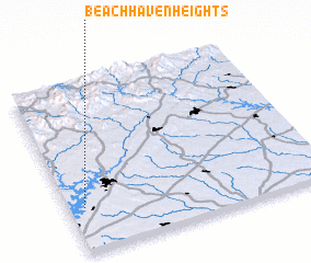3d view of Beach Haven Heights
