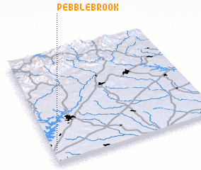 3d view of Pebble Brook