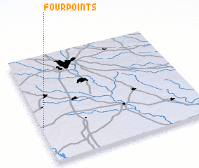 3d view of Four Points