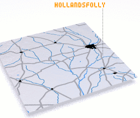 3d view of Hollands Folly
