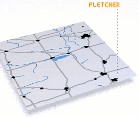 3d view of Fletcher