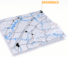 3d view of Greenback