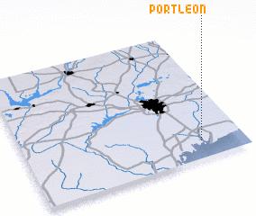 3d view of Port Leon