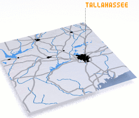 3d view of Tallahassee