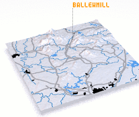 3d view of Ballew Mill