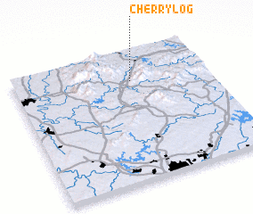 3d view of Cherry Log