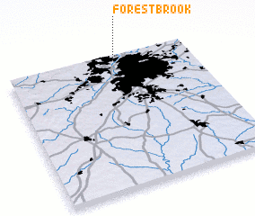 3d view of Forest Brook