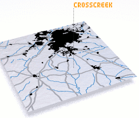 3d view of Cross Creek