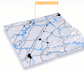 3d view of Sugar Grove