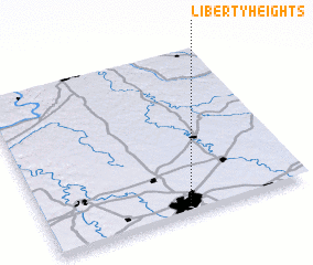 3d view of Liberty Heights
