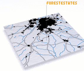 3d view of Forest Estates