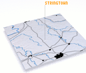 3d view of Stringtown