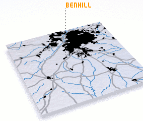 3d view of Ben Hill