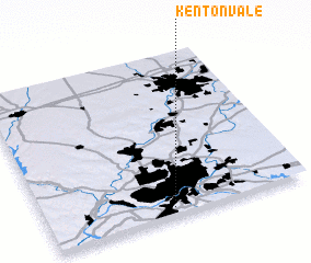 3d view of Kenton Vale