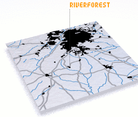 3d view of River Forest