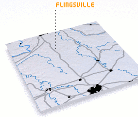 3d view of Flingsville