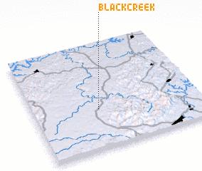 3d view of Black Creek