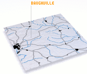 3d view of Baughville