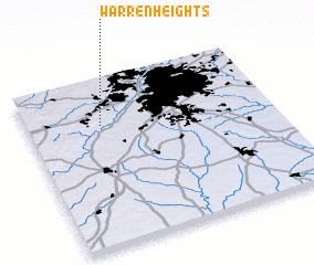 3d view of Warren Heights
