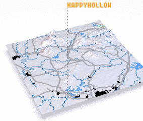 3d view of Happy Hollow